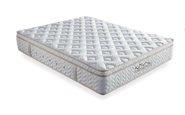διπλό στρώμα memory foam απο μετάξι