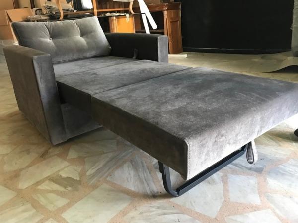 βαμβακερή πολυθρόνα κρεβάτι ανοιχτή