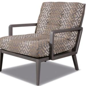 πολυθρόνα βαμβακερή lazy laka με ξύλινα χέρια και πόδια